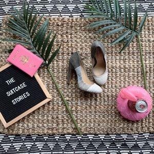 Mark + James Badgley Mischka ombre heels